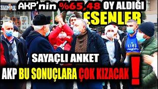 (SAYAÇLI) AK Parti'nin Kalesi Esenler Halkı Bu Pazar Genel Seçim Olsa Hangi Paritye Oy Verecek?
