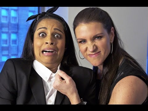 I'm Going To Be a WWE Wrestler!! (ft. Stephanie McMahon) (видео)