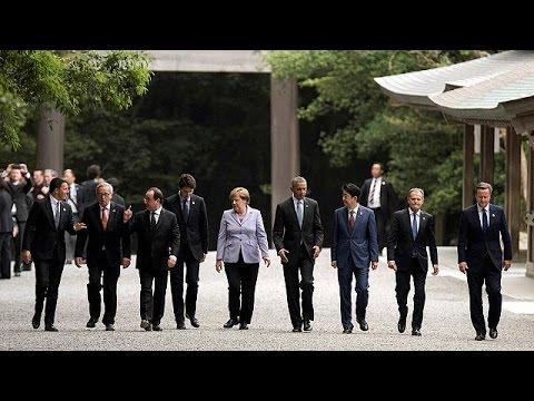 Ιαπωνία: Επίσκεψη στο μεγάλο ιερό της Ίσε, πριν ξεκινήσει η σύνοδος των G7