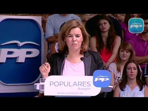 """Sáenz de Santamaría: """"Sólo pedimos a todos los que gobiernan una cosa, que cumplan la ley"""""""