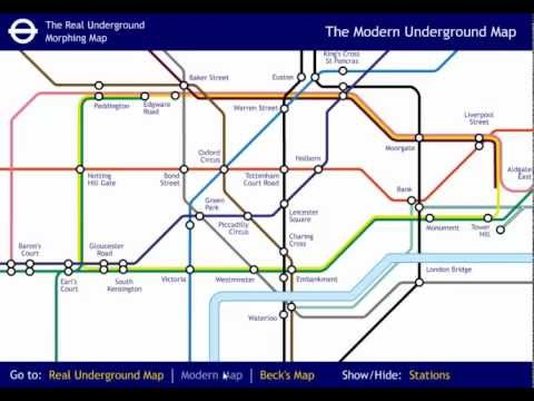 History of the London Tube Map