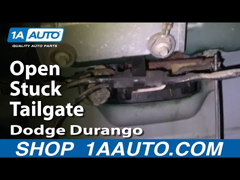 Auto Repair: Open Stuck Tailgate Dodge Durango 1998-03 – 1AAuto.com