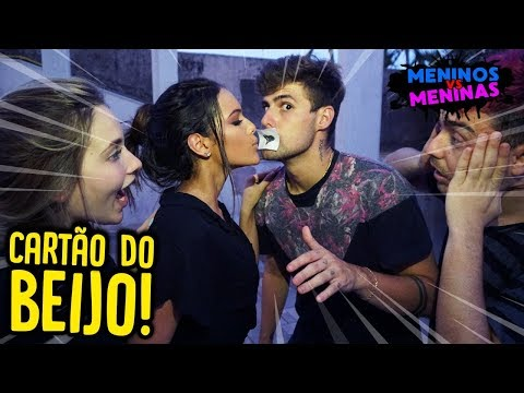 Video MENINOS VS MENINAS: DESAFIO MAIS DIFÍCIL DO BEIJO!! [ REZENDE EVIL ] download in MP3, 3GP, MP4, WEBM, AVI, FLV January 2017