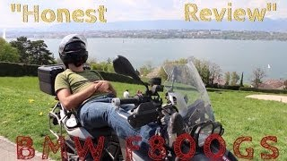 8. An Honest Review of the BMW F800GS