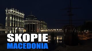 Skopje Macedonia  City new picture : SKOPJE MACEDONIA | SKOPJE MACEDONIA | Скопје Македонија (HD)