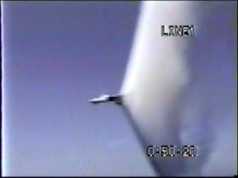 Sonic Boom Jet Fighter Fly By F-14...