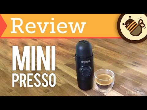 Minipresso GR - Review, Unboxing & How To (Portable, Hand-held Espresso Maker)