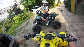 Video ATV vs Traffic | Quad vs Korek | Quady Suzuki LTZ 400 Z400 | jazda quadami zakorkowana ulica droga MP3, 3GP, MP4, WEBM, AVI, FLV Oktober 2017