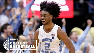 North Carolina completes season sweep vs. Duke | College Basketball Highlights