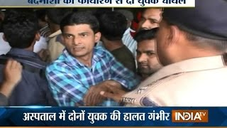 Meerut India  city photos gallery : Meerut city SP beats man for demanding justice - India TV