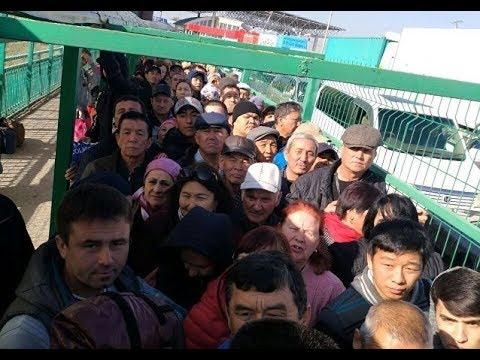 Назарбаев ответил Атамбаеву закрытой границей