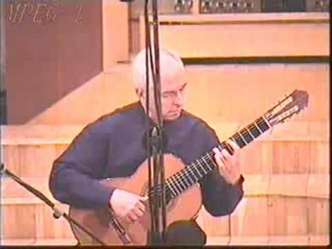 Rare Classical Guitar Video: John Williams – Sunburst – York