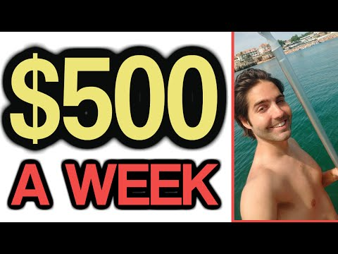 Secret Method to $500 a Week in Easy Income