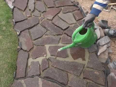 Naturstein leicht verfugen