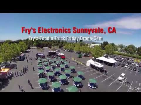 Fry's Foodie Truck Friday Drone Footage