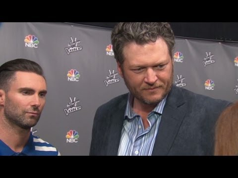 red carpet - CNN chats with judges Adam Levine, Blake Shelton and Carson Daly. More from CNN at http://www.cnn.com/ To license this and other CNN/HLN content, visit http:...