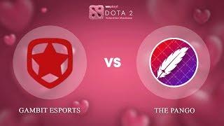 Gambit Esports vs The Pango - RU @Map1 | Dota 2 Valentine Madness | WePlay!