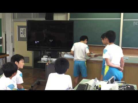 IchigoJamゲームデモ - 鯖江東小学校プログラミングクラブ