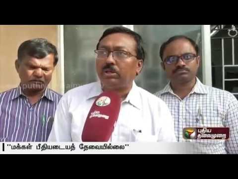 Public-neednt-panic-about-Viral-Flu-says-Kulanthai-Samy