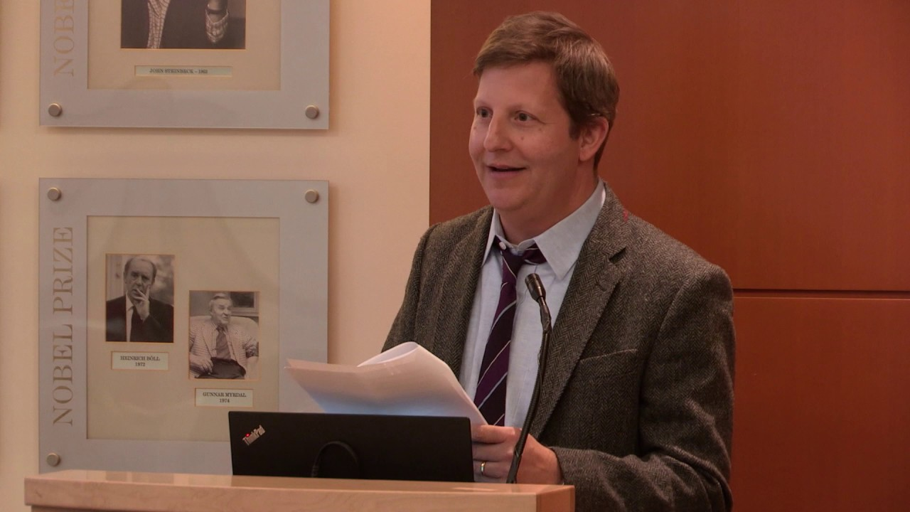 Robert Kolker, author of HIDDEN VALLEY ROAD, at our Open Book Event