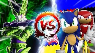 Cell Vs Sonic & Knuckles #CellGames | TeamFourStar