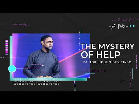 THE MYSTERY OF HELP || PASTOR BIODUN FATOYINBO. COZA SUNDAY SERVICE, 22-11-2020