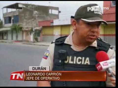 Policía ejecuta operativo en el sector del Arbolito