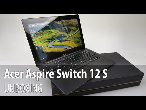 , title : 'Acer Aspire Switch 12 S Unboxing & Preview (12.5 inch Detachable) - Tablet-News.com'
