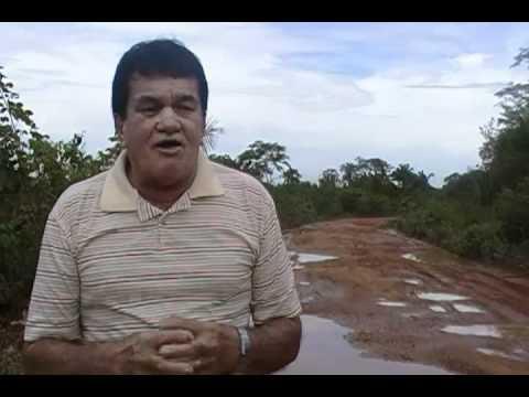 GOVERNADOR EDISON LOBÃO: ROSENDO DENUNCIA SITUAÇÃO DA ESTRADA VICINAL DA GAMELEIRA