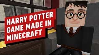 Harry Potter: The Open World RPG Made in Minecraft by IGN