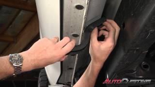 Iron Cross Stealth Running Board Install on 2014 Toyota Tundra - AutoCustoms.com