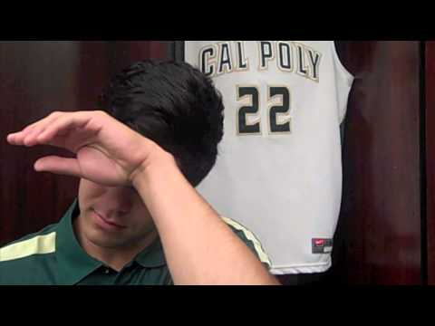 Drake U'u - Cal Poly Men's Basketball 2012 13 Media Darling Award Winner