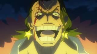 One Piece Gold Luffy Vs Tesoro Full Fight Eng Dub