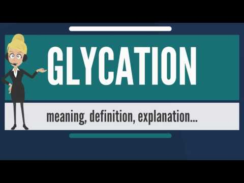 What is GLYCATION? What does GLYCATION mean? GLYCATION meaning, definition & explanation