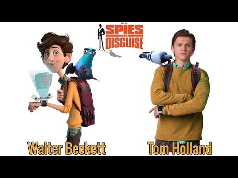 Spies in Disguise Characters in Real Life Behind The Voices