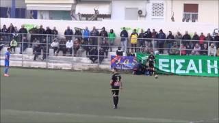 Θύελλα Ραφήνας - Εθνικός 3-4: Τα γκολ του αγώνα