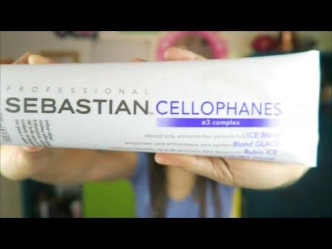Diario do cabelo descolorido - Cellophanes da Sebastian - ICE- Blond