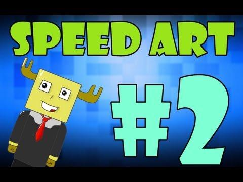 Speed art #2 | MrLosyash :3
