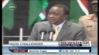 Newsdesk Full Bulletin 01 August 2014 (President Uhuru Kenyatta Adress NGOs)