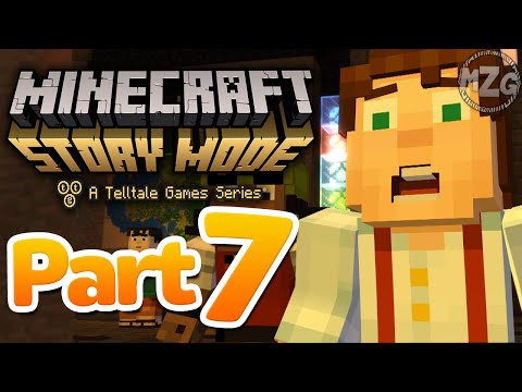 No Way!? - Minecraft: Story Mode - Episode 1: Part 7 (Let's Play Playthrough)