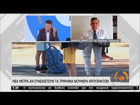 Κορονοϊός   Ο καθηγητής Ογκολογίας – Αιματολογίας Αθ. Δημόπουλος στην ΕΡΤ   17/08/2020