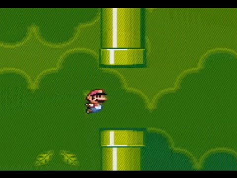 Guy Remakes Flappy Bird In Super Mario World