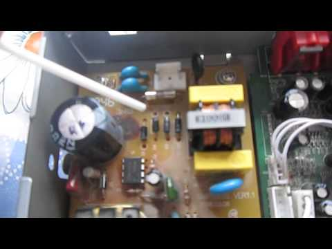 Ремонт блока питания ресивера после скачка напряжения в электросети