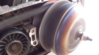 9. Piaggio Master 500 cc cvt at work with clutch bell