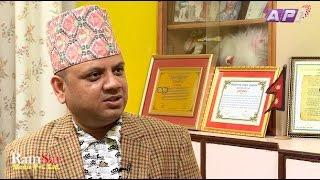 Dr  Diwakar Acharya on Tamasoma Jotirgamaya