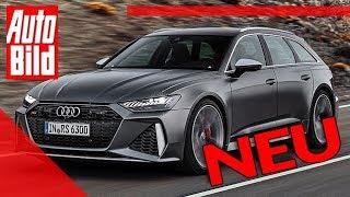 Audi RS 6 Avant (2020): Neuvorstellung - Preis - Infos by Auto Bild