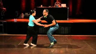 Montreal Swing Riot 2015 - Luis Arredondo & Valerie Kitchell - Short Showcase