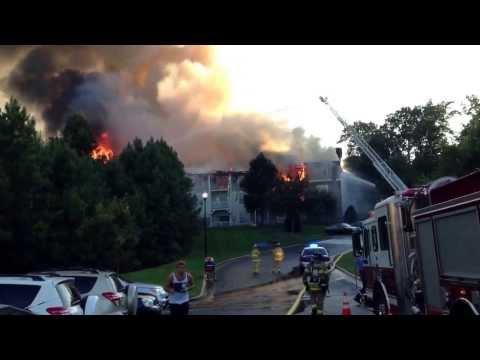 Camden crest apartment fire Raleigh NC