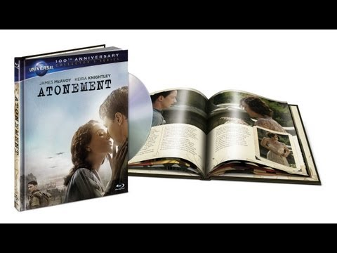 Atonement [2007] Limited Edition Digibook Blu Ray Unboxing