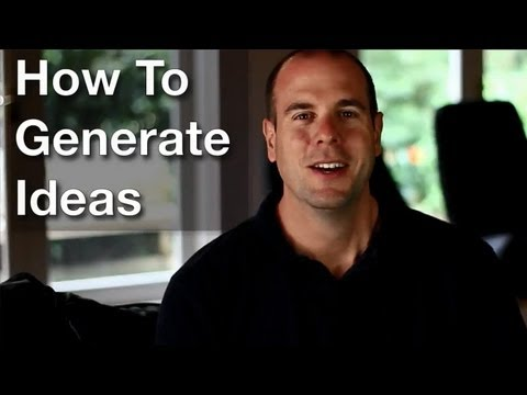 Generating Great Ideas For Business